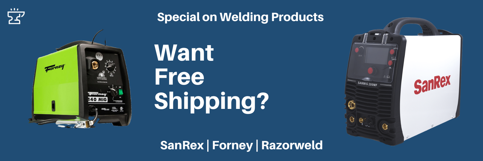 Free Shipping on Welding